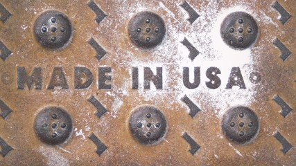 Made in the USA Monochrome