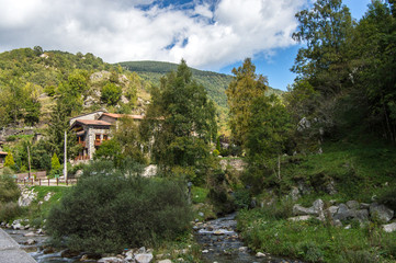 Beautiful house in the mountains. Spain,Pyrenees.