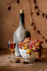 Grapes and Old Wine