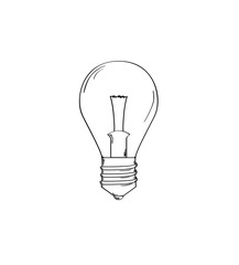 sketch of the Light Bulb