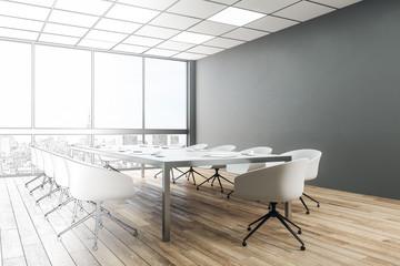 Modern conference room sketch