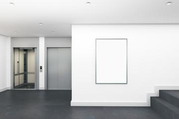 Modern lobby interior