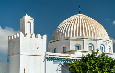 White Mosque in Medina of Kairouan. A UNESCO world heritage site in Tunisia