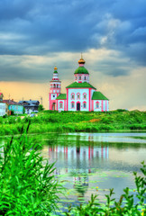 Church of Elijah the Prophet at the Kamenka River in Suzdal, Russia