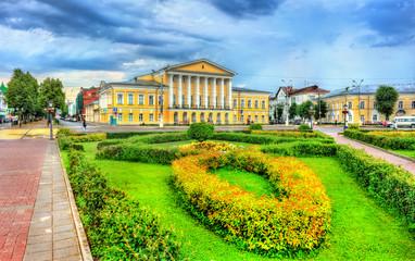 House of General Borshchov on Susaninskaya square in Kostroma, Russia