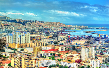 Printed roller blinds Algeria View of the city centre of Algiers in Algeria