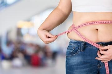 Obesity overweight diabetes fitness abdomen adult background