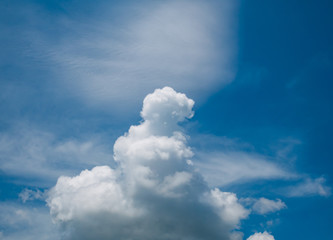 Cloud formation is a mountain.