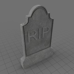 RIP tombstone