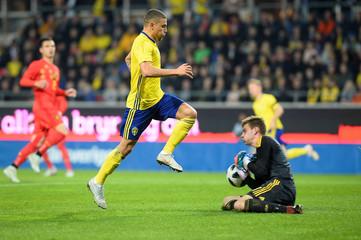European Under 21 Championship Qualifier - Sweden v Belgium