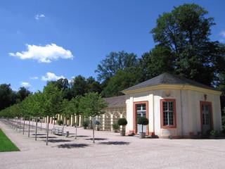 Pavillon Schlosspark Schloss Favorite Rastatt