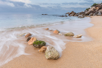 Piedras cala Cap Roig