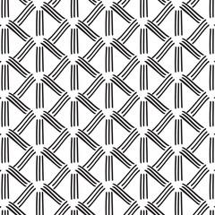 Vector striped monochrome decoration. Abstract  Graphic black white texture.  Minimal geometric stripe shape. Trendy asymmetric vertical elements.