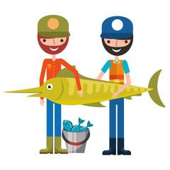 fisherman fish and bucket fishes hobby