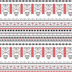 Tribal seamless pattern - Berber black signs ,vector illustration