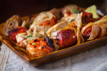 Indian Tandoori Platter