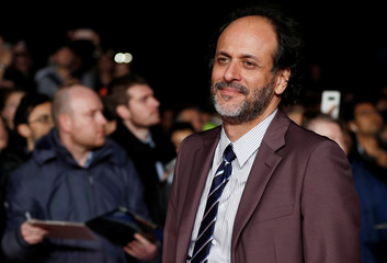 Director Luca Guadagnino arrives at the UK Premiere of Suspiria during the London Film Festival, in London