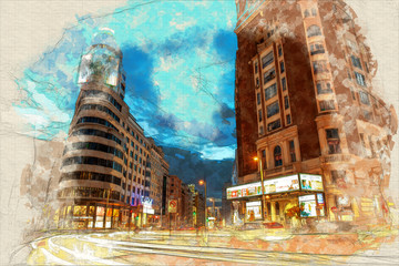 Callao  Madrid painting