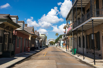 The beautful French Quarter in New Orleans, Louisiana