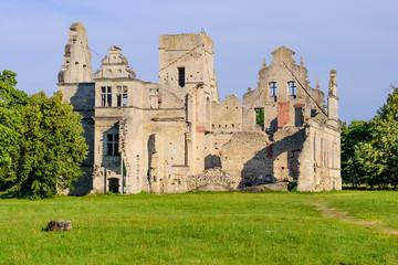 Ruins of the Ungru castle, Estonia