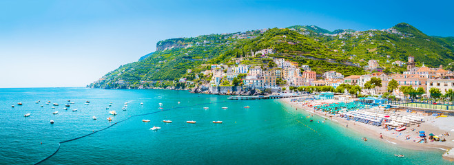 Wall Mural - Town of Amalfi, Amalfi Coast, Campania, Italy