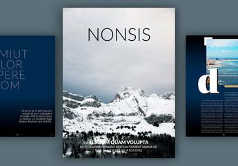 Diseño de revista digital moderna