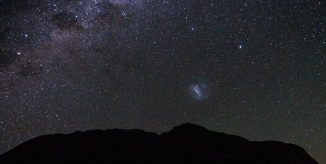 Stars and Milky Way from New Zealand