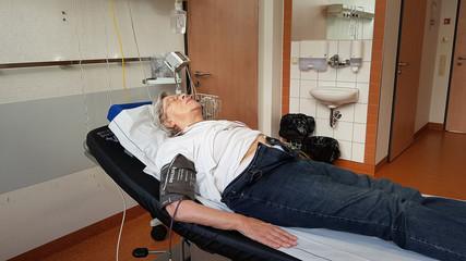 Senior Woman in Hospital 2