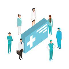 people staff medical medicine package