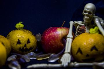 childs halloween installation