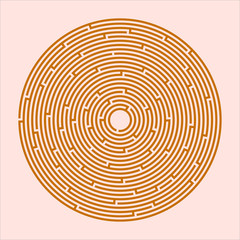 Labyrinth, game, entertainment, puzzle, Vector Image