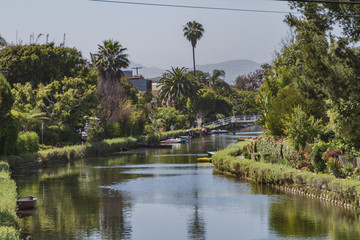 Venice Canals View in Los Angeles California