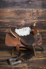 Newborn Saddle Backdrop