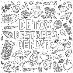 Detox. Destress. Deflate