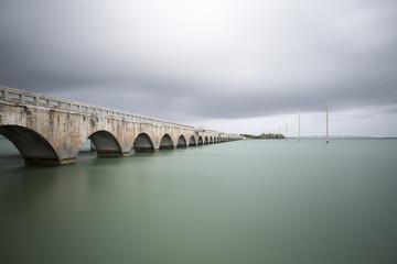 Historic Florida Keys Bridge