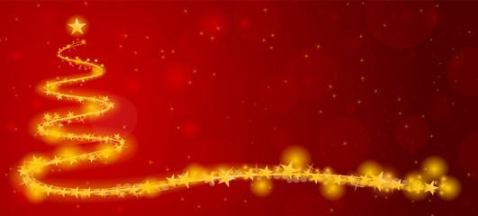 Weihnachten Weihnachtsbaum abstrakt Hintergrund rot gold