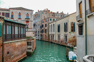 Venice neighborhood canal