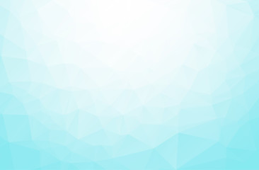 Abstract Blue Polygonal Mosaic Background, Creative Design Templates