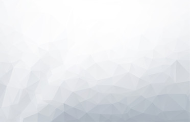Abstract Gray White Polygonal Background, Creative Design Templates