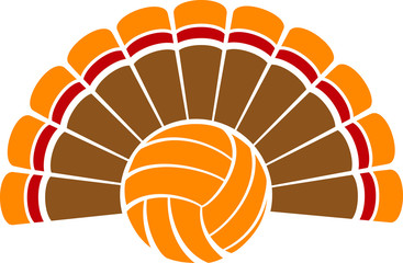 Thanksgiving Turkey Volleyball