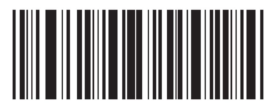 Barcode vector icon. Bar code for web design. Isolated illustration
