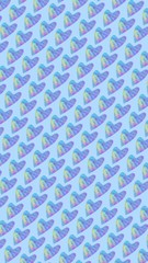 Abstract pattern design for fabric.