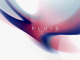 Background abstract fluid colors design