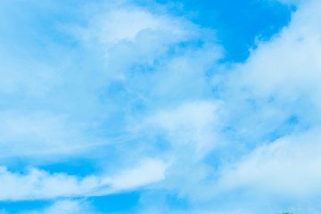 The blue skies and constantly moving clouds.