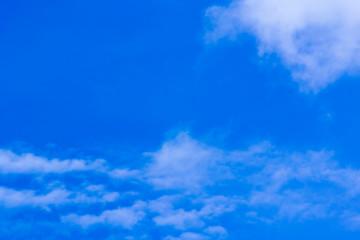 Canvas Prints Heaven romantic blue sky, free landscape.
