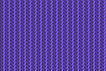 vector seamless knitted background. Seamless knitting pattern