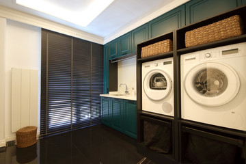 Washing Machines at the Utility Room