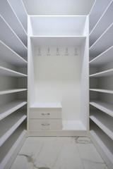 New Empty Wardrobe Room