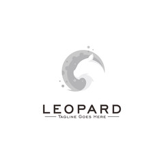 leopard Logo design concept