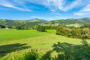 pays Basque, terroir du piment d'Espelette, France